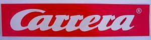 Original Carrera - Aufkleber 24 x 5,5 cm
