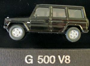 Werbemodell Mercedes Benz G 500 V8