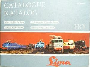 Lima Katalog 1965/1966 Rarität