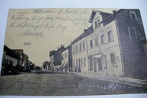 6501 Wörrstadt Ansichstkarte von ca. 1910 gelaufen