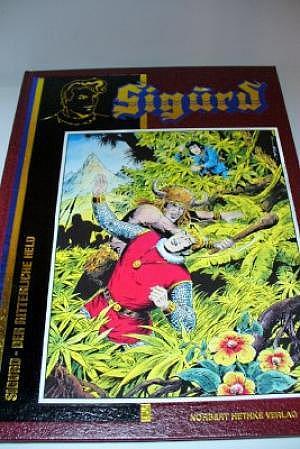 Sigurd Luxusausgabe Band 4 N. Hethke Verlag