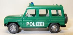 106 Polizeiwagen MB G 350