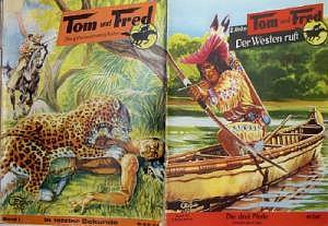 Tom und Fred Nr. 1 bis 75 komplett, Originale