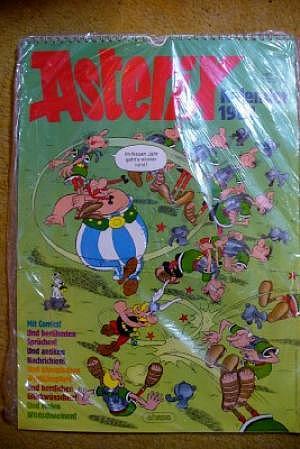Asterix Kalender 1984, noch verschweißt