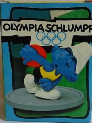 Olympia Schlumpf 80er Jahre, im Karton