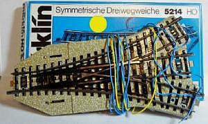 5214 Märklin Dreiwegweiche M-Gleissystem