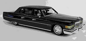 Cadillac Fleetwood 1976 von Elegance