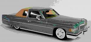 Cadillac Coupé de Ville 1976 von Elegance