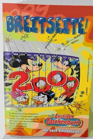 Micky Maus Lustiges Taschenbuch Nr. 268 Fehldruck