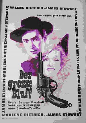 """Filmplakat """"Der große Bluff"""""""