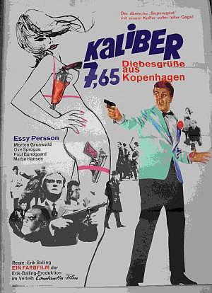 Kaliber 7,65 Diebesgrüße aus Kopenhagen Filmplakat