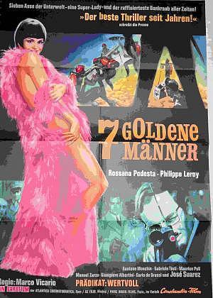 Filmplakat 7 Goldene Männer