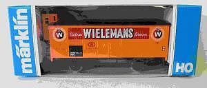 Märklin Werbewagen WIELESMANN Basis 4689