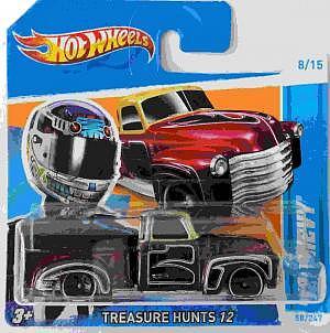 Mattel Hot Wheels Treasure Hunts 12 Chevy 52