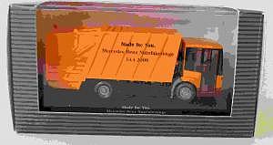 MB Econic Müllwagen IAA 2000
