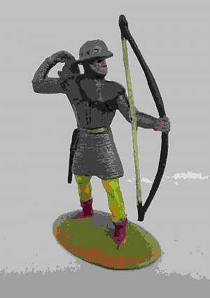Merten 4cm Bogenschütze 60er Jahre
