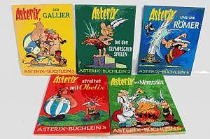 Asterix-Büchlein Pestalozzi Verlag um 1970