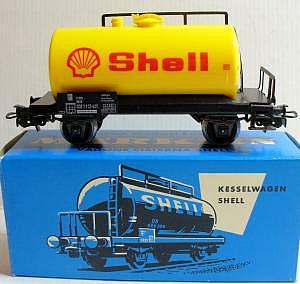 Märklin 4502 Tankwagen SHELL 70er Jahre