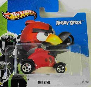 Mattel Hot Wheels Angry Birds - Red Bird