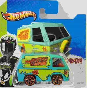 Mattel Hot Wheels The Msytery Machine