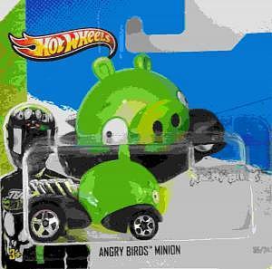 Angry Bird Minion von Hot Wheels