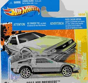 Mattel Hot Whhels Back to the Future