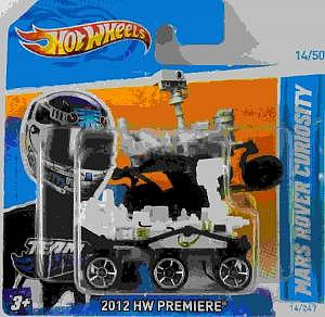Mars Rover Curiosity von Hot Wheels