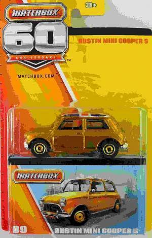 Austin Mini Cooper S 60 Jahre Matchbox