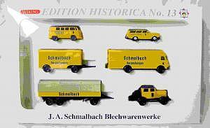 Wiking Edition Historica No.13 J.A. Schmalbach Blechwarenwerke