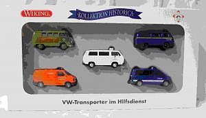 Wiking Kollektion Historica VW Transporter im Hilfsdienst