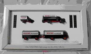 Wiking Die VELTINS-Fahrzeuge in den 60er Jahren
