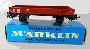 4503 Märklin Niederbordwagen