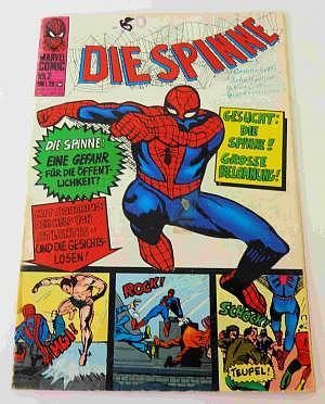 Die SPINNE Nr. 2 von 1974, Williams Verlag