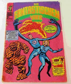 Die Fantastischen Vier Nr. 1 von 1974