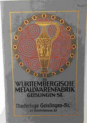 WMF Originalprospekt um 1900