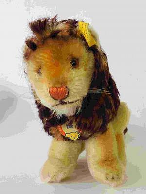 Steiff Löwe Leo, 50er Jahre