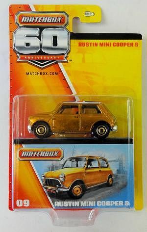 60 Jahre Matchbox Austin Mini Cooper S