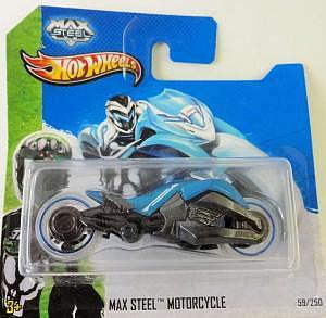 Mattel Hot Wheels Max Steel Motorcycle