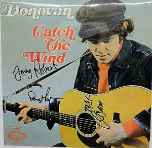 "LP Donovan ""Catch the Wind"", signiert"