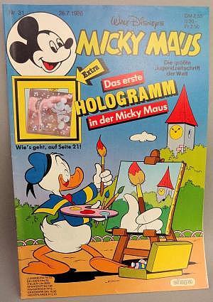 Micky Maus Nr. 31 vom 26.07.1986 mit Beilage