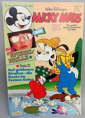 Micky Maus Nr. 24 vom 08.06.1985 mit Beilage