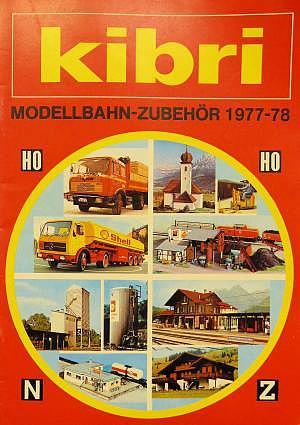 kibri Katalog 1977/78