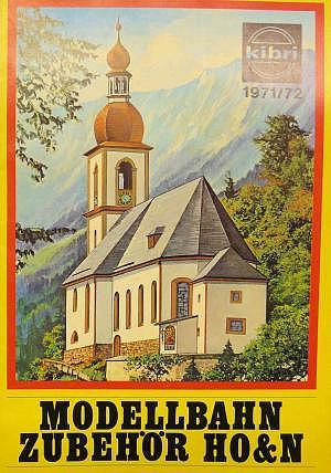 kibri Katalog 1971/72