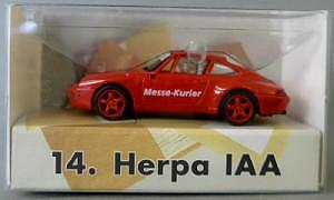 Herpa Sondermodell Porsche 911 Spielwarenmesse 1997