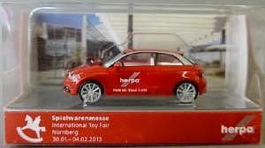Herpa Spielwarenmesse 2013 Audi