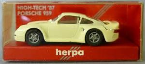 4. Herpa IAA 87 Porsche cremefarben