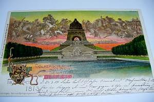 Leipzig Völkerschlachtdenkmal um 1904