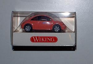 """Wiking """"New Beetle"""" mit Wanner-Werbung, 1:87, sehr gut erhalten"""