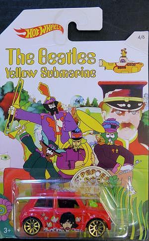 Morris Mini aus dem Film Yellow Submarine