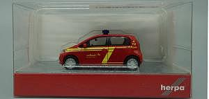 VW UP! Feuerwehr Stuttgart Herpa 1:87